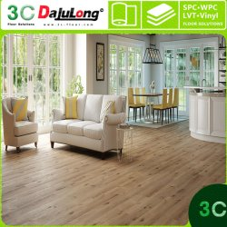 La preuve d'usure de pierre de gros de luxe en plastique PVC composite Flooring 3mm
