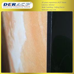 6 mm/0,4 mm Stein-Aluminium-Verbundwerkstoff für Die Bedachung