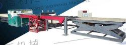 ماكينة العمل الخشبية ماكينة قطع الأخشاب الطولية والعكسية آلية تقطيع الأخشاب ماكينة قطع الأخشاب ذات الأربعة حواف خشبة خشبيّة