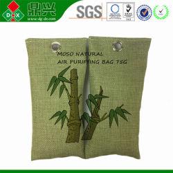 Bolsa de carbón de bambú de Moso desodorante