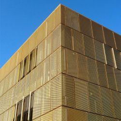 Алюминиевый корпус расширения для листового металла фасад