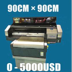 3D 효력은, 모든 물자 아무 문제도, 가장 싼 90cm x 90cm UV LED 인쇄 기계가 없다