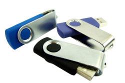Ept Whosale & Retail Pendrive USB giratorios promocionales con logotipo personalizado