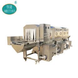 Automatische Rahmen-Unterlegscheibe-industrielle Plastiktellersegment-Waschmaschine