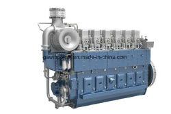 CCS公認の中国のWeichaiの海洋の手前側にあるディーゼル機関Cw6250zlc (2000HP/1000rpm)