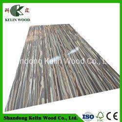 木製のファイバーの材木の家具の装飾的なボードのWoodgrainによって薄板にされるメラミンMDF