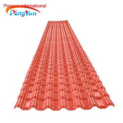 Parete del PVC dello strato del tetto del policarbonato del PVC dello strato del tetto e parete laterale rivestite
