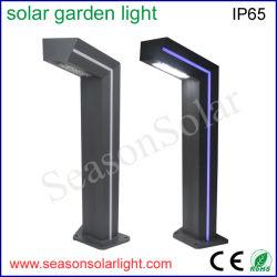 고성능 옥외 점화 조경 빛 파란 LED 지구 전등 기둥을%s 가진 태양 LED 정원 점화
