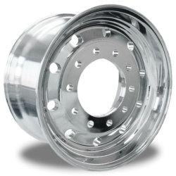Rueda de camión pesado 22,5*8.25, peso ligero de la rueda (22,5*9,00 19,5*7,5 22,4*8,25) de la rueda Alminum forjado