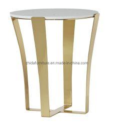 홈 가구 고급 클래식 대리석 커피 테이블 측면 테이블