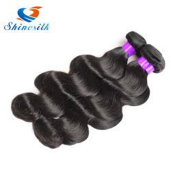 Guangzhou Sèche cheveux humains naturelles brésilien Virgin hair extension