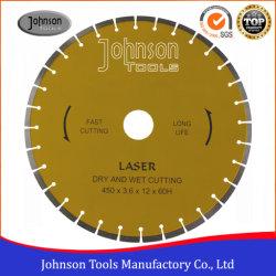 Lame de découpe laser 450 mm: Diamond vu pour la coupe de béton