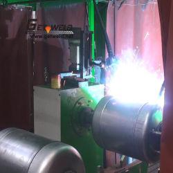 machine à souder circulaire pour chauffe-eau la ligne de production de soudage