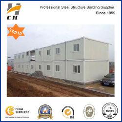 Meilleur prix en usine/Préfabriquées Préfabriqués Structure en acier léger travailleur à faible coût dortoir / bureau de deux étages de conteneurs Camp de travail de la Chambre pour l'Afrique