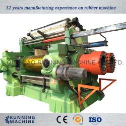 Deux rouleaux en caoutchouc le mélange de Mill, ouvrez le mélange de caoutchouc/plastique Mill Machine pour le Lot maître