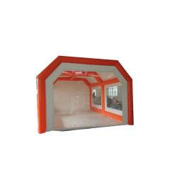 Cabine de pulvérisation gonflable Portable personnalisé tente de faire de la peinture en aérosol gonflable