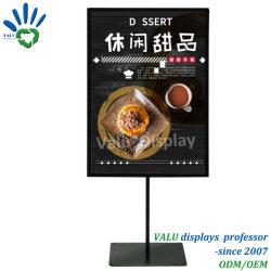 Table Top Menu Papier A4 affiche signe de métal rack statif
