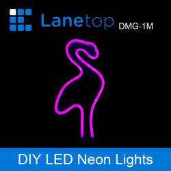 접히는 최고 밝은 2835의 LED DIY 네온 등