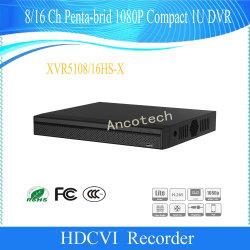 Dahua 8/16 Videorecorder van penta-Brid 1080P van het Kanaal Compacte 1u Digitale (Xvr5108hs-x/xvr5116hs-x)