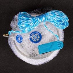 Завершена Monofilament нейлоновые Frisbee промысел литой/Cast чистые инструменты (CTNMO4-3)