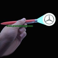 Поощрение проектор проекции с логотипом пера