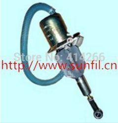 Электромагнитного клапана дизельного генератора 6CT 8.3lkomatsu переключатель соленоида экскаватора, 24 В 4063712