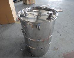 ステンレス鋼ミラーの磨かれた10L-1000Lドラム