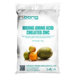 Acide aminé d'engrais au zinc chélaté