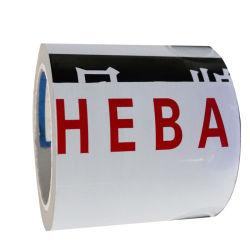 colore Nero-Bianco di stirata di plastica di 0.015-0.1mm pellicola protettiva del PE stampa/stampato