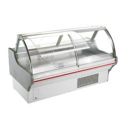Supermarché Plats de refroidissement par ventilateur Showcase Deli Affichage compteur alimentaire réfrigérateur