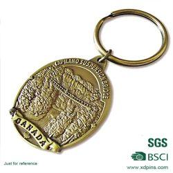 عال يصقل تذكار أثر قديم نوع ذهب مفتاح حامل لأنّ هبة