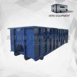 Kundenspezifische Stahlherstellung Roro Scrap Metallbehälter abrollen