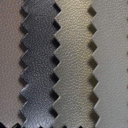 Forro de grãos de ovinos caprinos PU em imitação de couro com revestimento Spunlace (HST016)