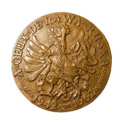 Medalha de Bronze microfusão