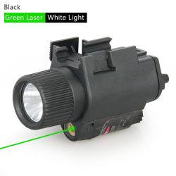 M6 Lampe torche tactique avec Pointeur Laser Vert de la vue Cl15-0003G