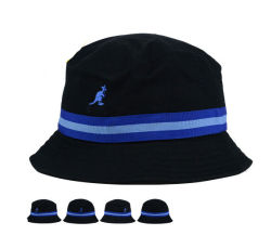 Embaid Middle Band Kid Size Baby Cotton Bucket Hap with Emroidery 로고
