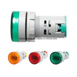 22 il voltmetro del visualizzatore digitale di millimetro Illumina l'indicatore combinato di CA 60V-450V