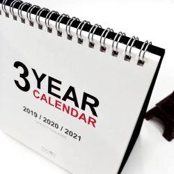2019 UV 와니스 책상 달력 주문 인쇄