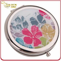هدية ترويجية طي هدية مرآة معدنية مضغوطة مطبوعة مخصصة