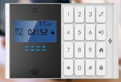 Wireless GSM SMS el sistema de alarma de seguridad para hogares, con Apagar la función de informar