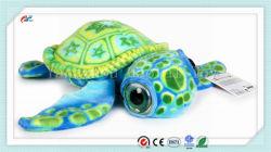 18 인치 아기 큰 눈 거북 박제 동물 견면 벨벳