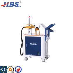 Portable de mano Sistema de marcado láser de fibra de la máquina de marcado para Auto Parts
