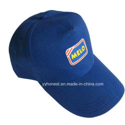 青い綿6つのパネルの男女兼用のカスタム野球帽および帽子