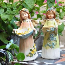 ملاك راتينج تمثال نابض فصل صيف حلية تمثال صغير [بولستون] دمية لأنّ بيتيّة وخارجيّة حديقة ملاك