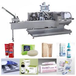 caixa de papelão Horizontal Automática máquina de embalagem para mascarar / Tubo / Vaso / Cosméticos / Porta-luvas/Sabão / alimentos / Cartoning Bebidas