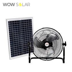 2021 Hot Sale Energy Saving Solar Powered Table Fan voor Granny cadeau