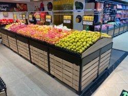 معدات السوبر ماركت رفّ فواكه حامل شاشة الخضار جندولا رف ل رفّ متجر الفاكهة