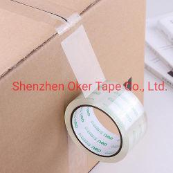 Fabricante de fábrica BOPP OPP Adesivo Acrílico com a cor do logotipo, Carton Fita de vedação de silicone Fita da embalagem