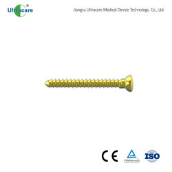2.5mm Cortex Bone Screw 、 Stardrive 、完全ねじ、ミニフラグメントスクリュー、チタン、 整形外科インプラント、外傷、外科用器具、医療機器、 CE/ISO