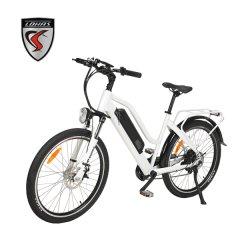 Bicicleta eléctrica 26pulgadas neumático con motor de 500 W/48V 14Ah Li-ion Ciudad Bicicleta eléctrica